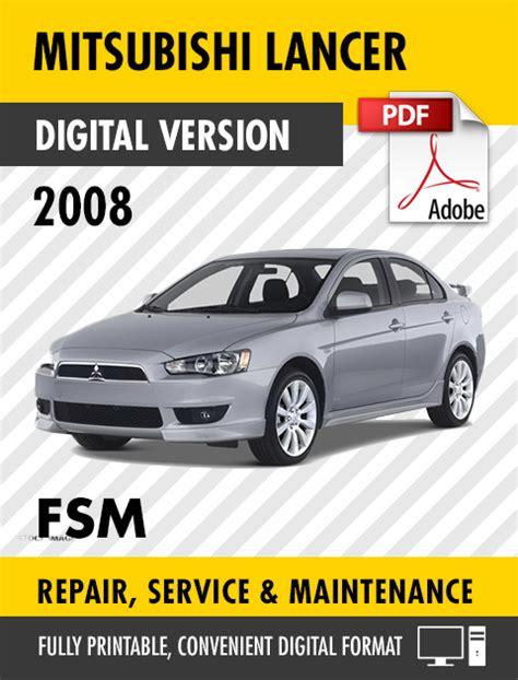 Repair Manual Lancer 2008 Torrent (ePUB/PDF)