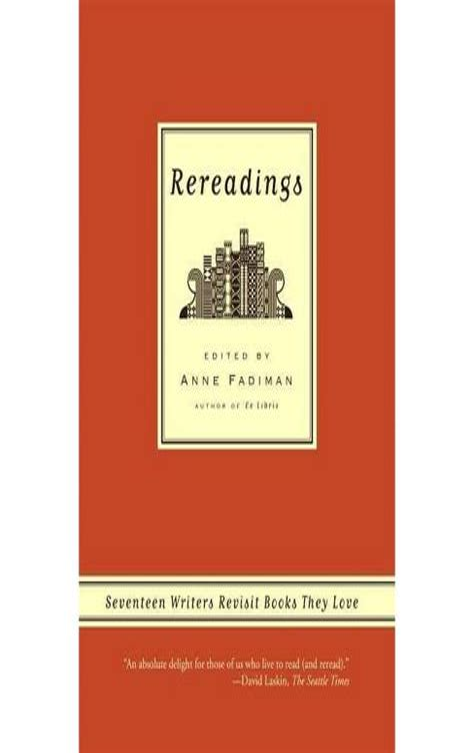 Rereadings Fadiman Anne (ePUB/PDF) Free