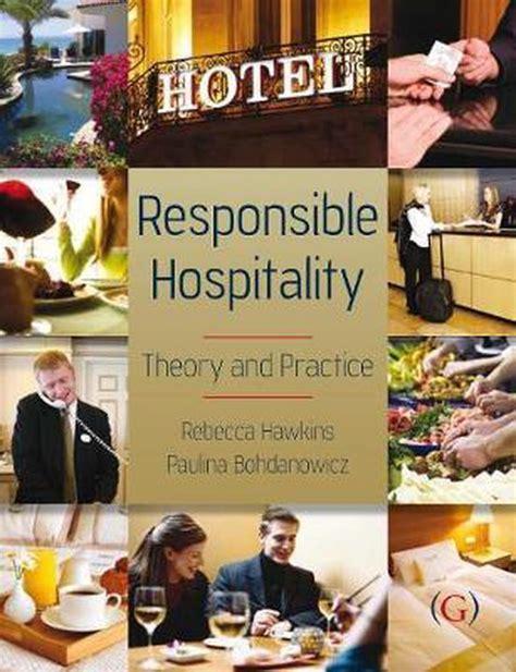 Responsible Hospitality Hawkins Rebecca Bohdanowicz Paulina (ePUB