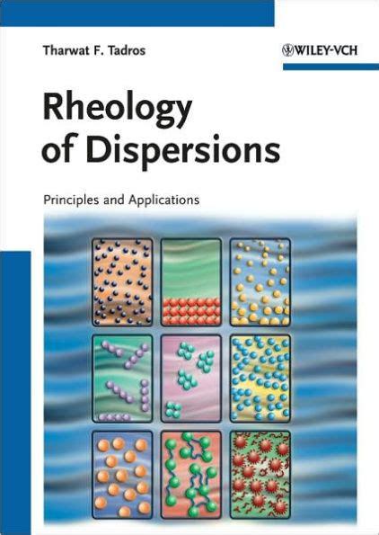 Rheology Of Dispersions Tadros Tharwat F (ePUB/PDF)