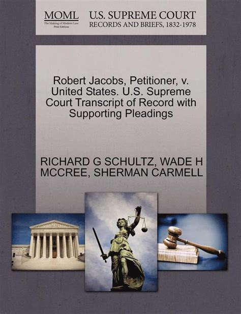 Richard Harris Petitioner V United States Us Supreme Court Transcript Of Record With Supporting Pleadings
