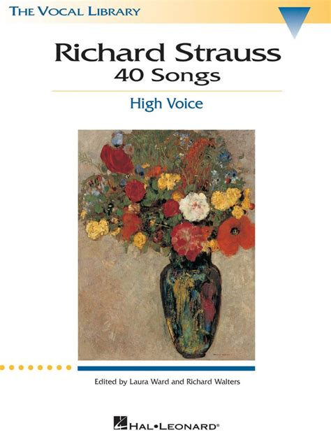 Richard Strauss 40 Songs The Vocal Library