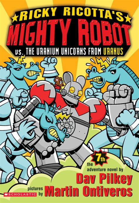 Ricky Ricottas Mighty Robot Vs The Uranium Unicorns From Uranus