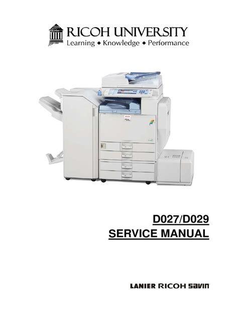 Ricoh Aficio C5000 Manual Pdf (ePUB/PDF)
