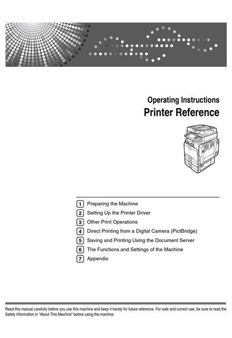 Ricoh Manual Mp C4500 (ePUB/PDF)