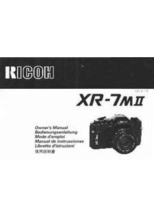Ricoh Xrs Manual (ePUB/PDF) Free