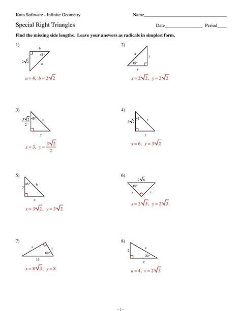 Right Triangle Practice Problems (ePUB/PDF) Free