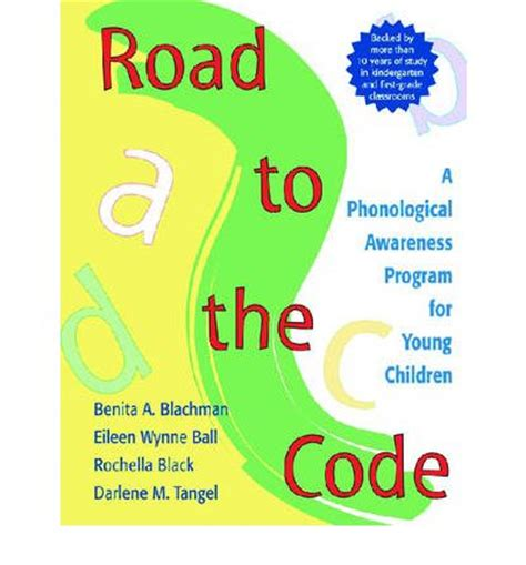 Road To The Code A Phonological Awareness Program For Young Children