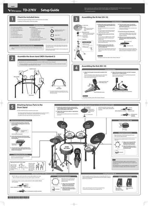 Roland V Drums Manual (Free ePUB/PDF)