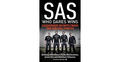 SAS Who Dares Wins Leadership Secrets From The Special Forces