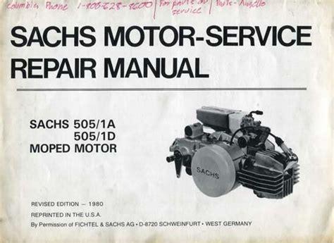 Sachs Moped Service Manual (ePUB/PDF) Free