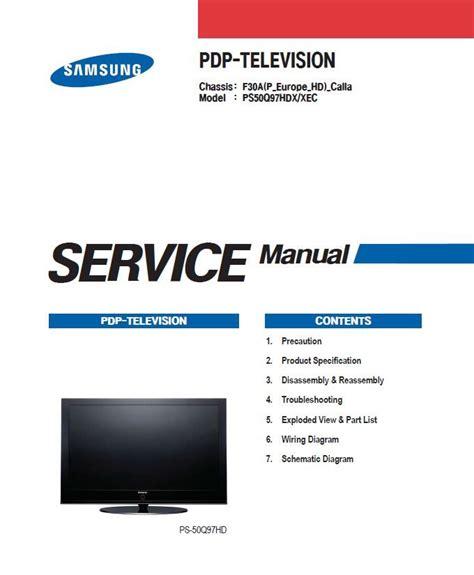 Samsung Cs21a550mlk Tv Service Manual (ePUB/PDF)