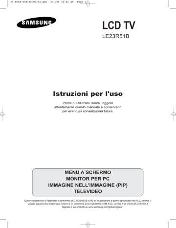 Samsung Le23r51bh Service Manual Repair Guide (ePUB/PDF)