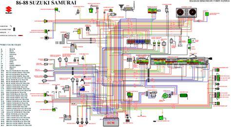 samurai ignition wiring diagram