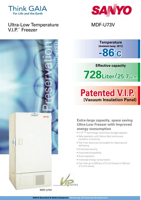 Sanyo Mdf U73v Manual ePUB/PDF