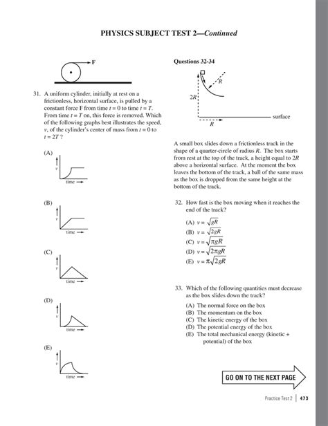 Download Sat Subject Test Physics Practice Test From server2ramd