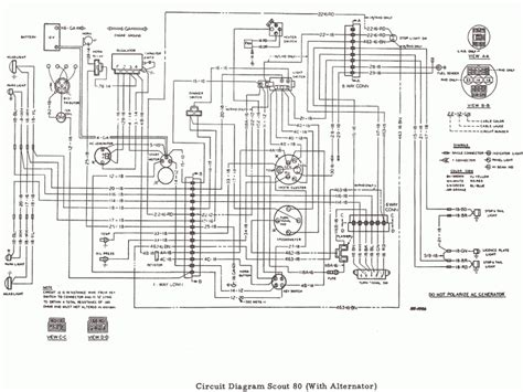scout wiring harness diagram