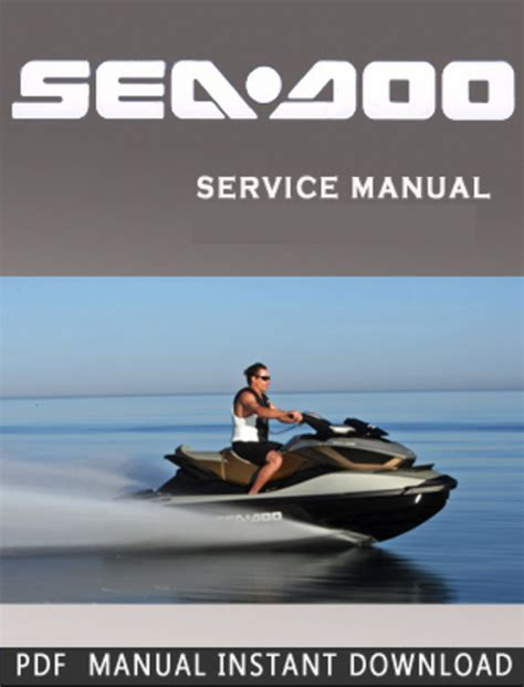 Seadoo Maintenance Manual (ePUB/PDF) Free