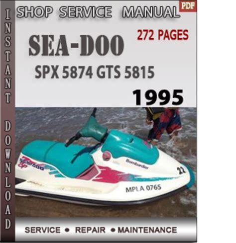 seadoo spx manual