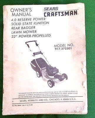 Sears Riding Mower Manual (ePUB/PDF)