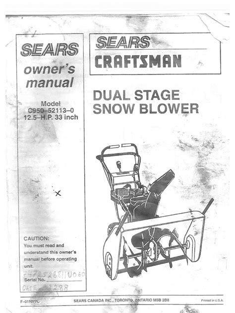 Sears Toolbox Manual (ePUB/PDF)