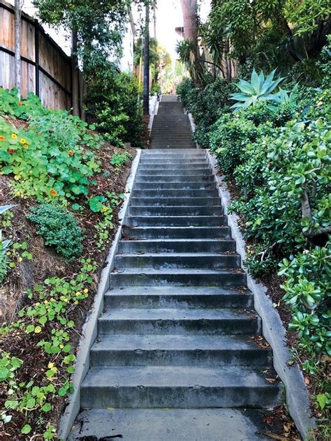 Secret Stairs A Walking Guide To The Historic Staircases Of Los Angeles