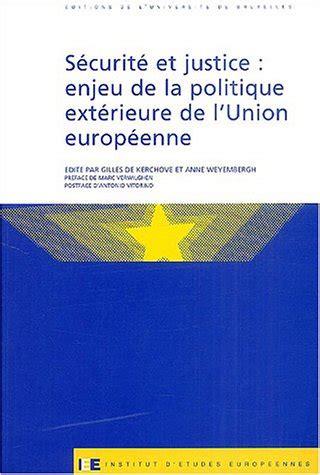 Securite Et Justice Enjeu Politique Exterieure Union Euro (ePUB/PDF)