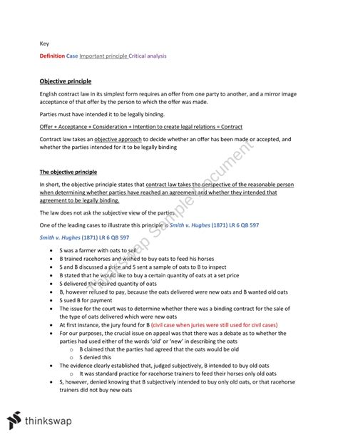 Selected Cases On The Law Of Contracts With Annotations