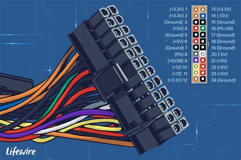 server mini 24 pin wiring diagram