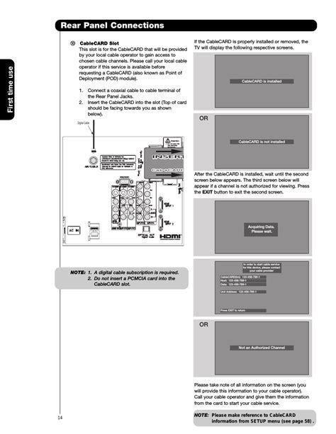 Service Manual Hitachi 42hdt50 Plasma Display Panel (ePUB/PDF) Free