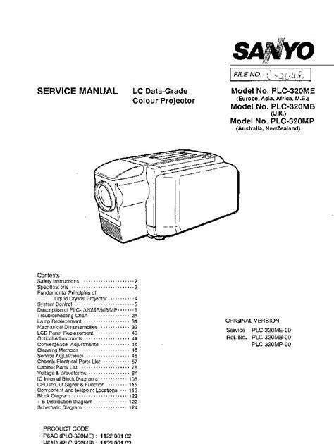 Service Manual Marantz Lc44xx Lc6131 Portable Lcd Projector (ePUB/PDF)