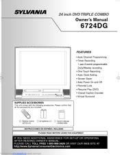 Service Manual Sylvania 6724dg Color Tv Dvd Vcr (ePUB/PDF)