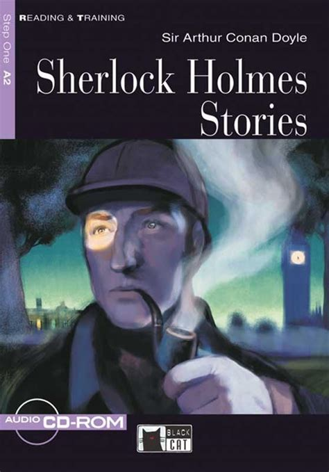 Sherlock Holmes Stories Cdrom Coleccin Black Cat Reading And Training