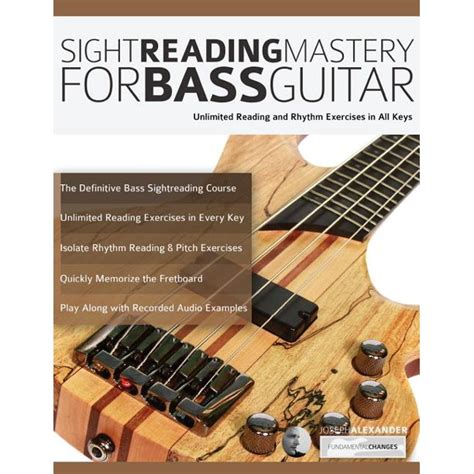 Sight Reading Mastery For Bass Guitar Learn To Read Music