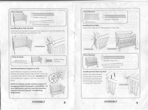 Simplicity Crib Instruction Manual (ePUB/PDF)