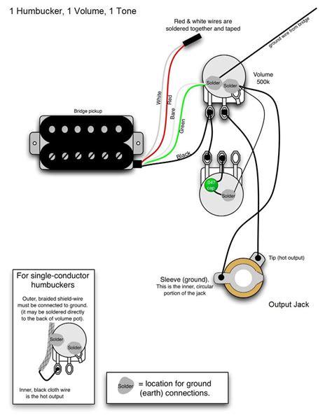 Single Humbucker Guitar Wiring Diagrams (ePUB/PDF)