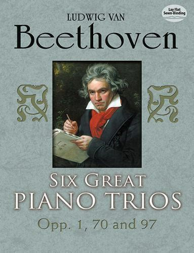 Six Great Piano Trios In Full Score Dover Chamber Music Scores