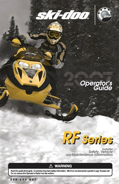 Ski Doo Owners Manual (ePUB/PDF) Free
