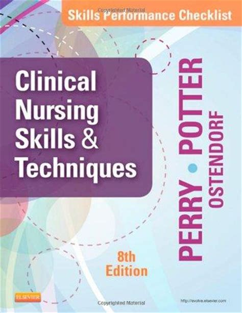 Skills Performance Checklists For Clinical Nursing Skills Techniques 8e