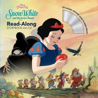 Snow White And The Seven Dwarfs Read Along Storybook And Cd
