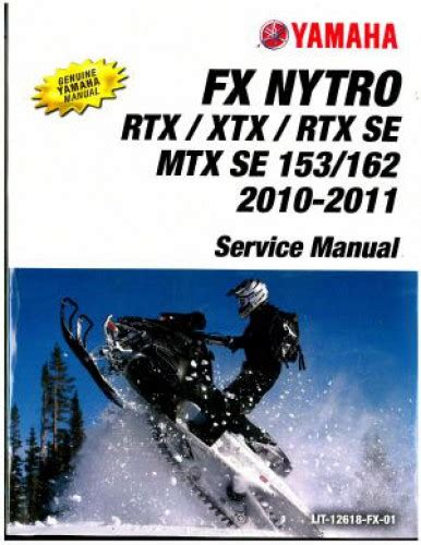 Snowmobile Service Manual
