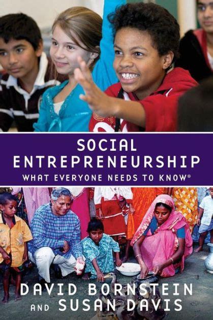 Social Entrepreneurship Davis Susan Bornstein David ePUB/PDF
