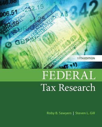Solution Manual Federal Tax Research 9th Edition (ePUB/PDF)
