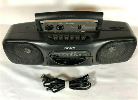 Sony Cfs B11 Radio Cassette Corder Repair Manual (ePUB/PDF)