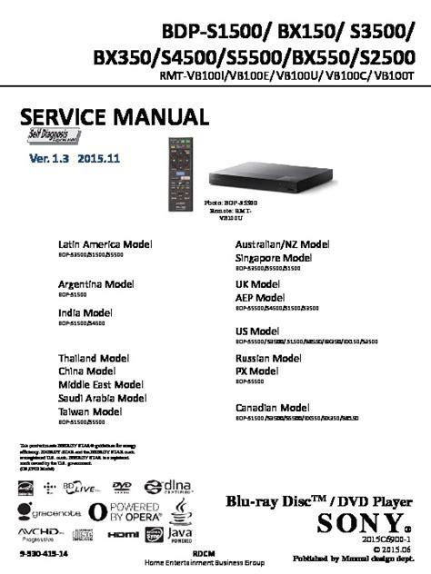 Sony Dvd Manuals Free (ePUB/PDF)