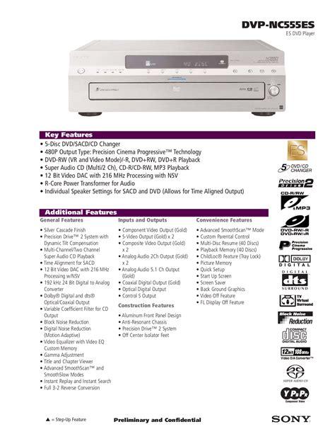 Sony Dvd Player Manual Pdf (ePUB/PDF)