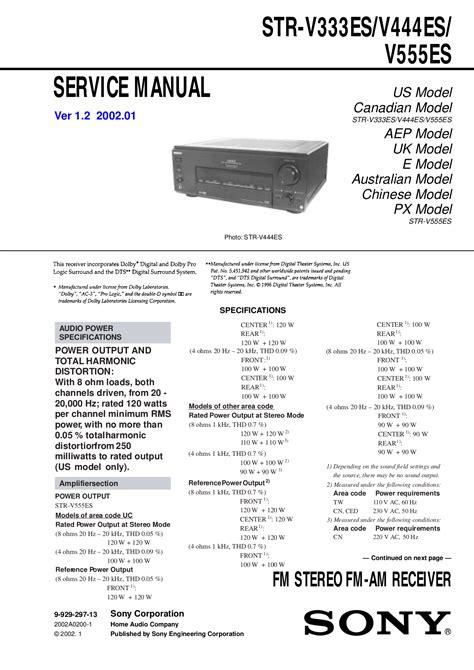 Outstanding Sony V555Es Manual Epub Pdf Wiring 101 Archstreekradiomeanderfmnl