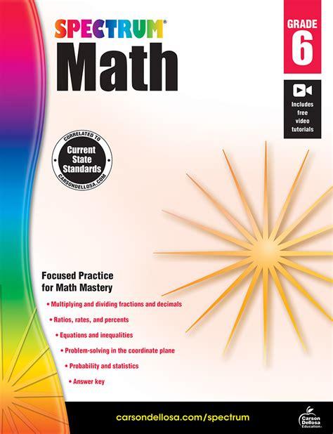 Spectrum Math Workbook Grade 6 (ePUB/PDF) Free