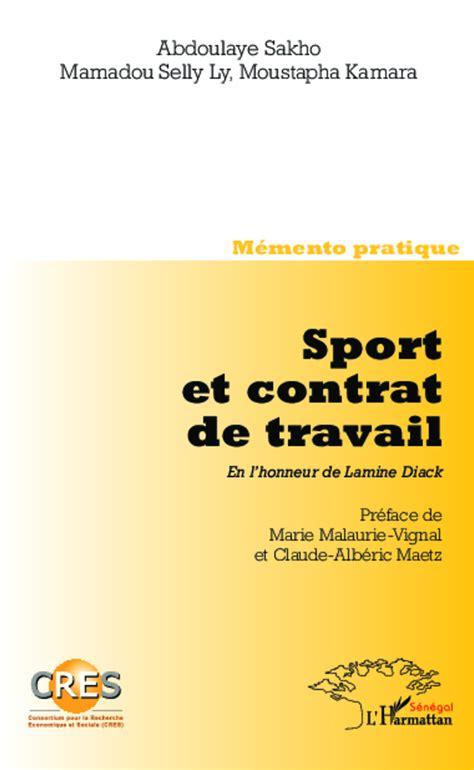Sport Et Contrat De Travail En Lhonneur De Lamine Diack