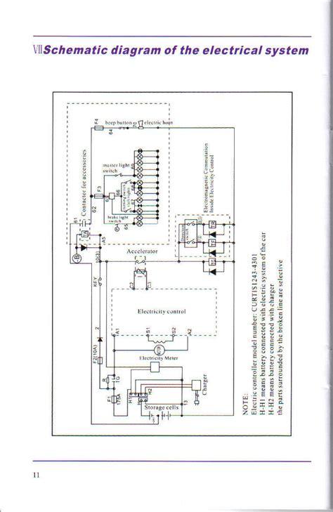 star golf cart wiring diagram